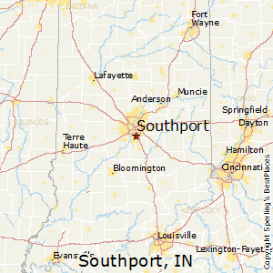 Southport,Indiana Map