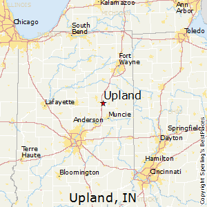 Upland Indiana Map.Upland Indiana Cost Of Living