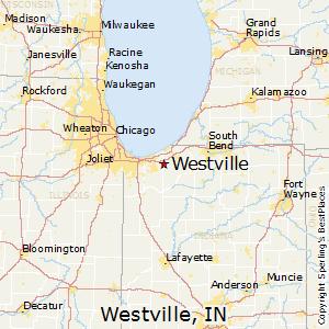 Westville Indiana Map.Westville Indiana Economy