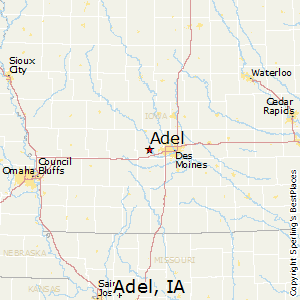Comparison Spencer Iowa Adel Iowa