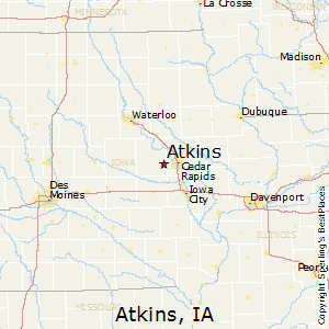 Best Places to Live in Atkins, Iowa