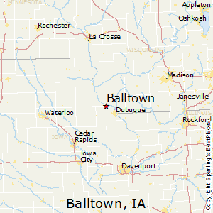 Best Places to Live in Balltown, Iowa