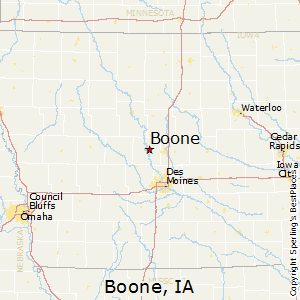 Best Places to Live in Boone, Iowa