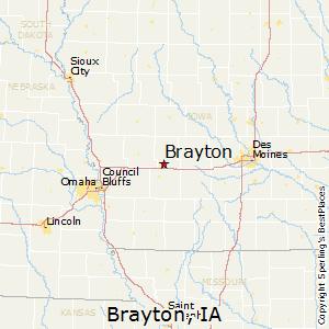 Audubon Iowa Map.Comparison Brayton Iowa Audubon Iowa