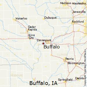 Comparison: Buffalo, Iowa   Milan, Illinois