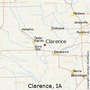 Comparison: Des Moines, Iowa   Clarence, Iowa