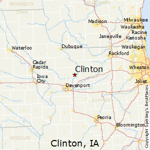 Clinton Iowa Map Best Places to Live in Clinton, Iowa
