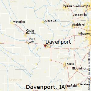 Comparison: Davenport, Iowa   Cedar Rapids, Iowa