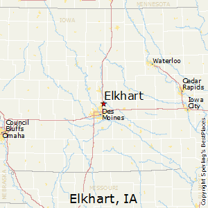 Best Places to Live in Elkhart Iowa