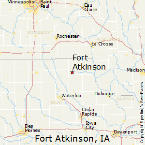 Fort atkinson iowa zip code