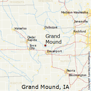 Grand_Mound,Iowa Map