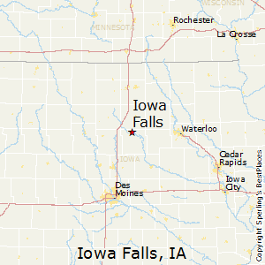 iowa falls iowa map Best Places To Live In Iowa Falls Iowa iowa falls iowa map