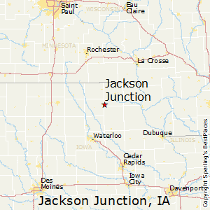 Oelwein Iowa Map.Comparison Oelwein Iowa Jackson Junction Iowa