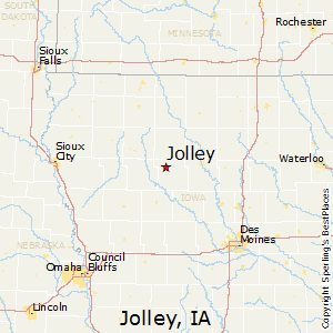 Jolley,Iowa Map