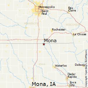 Comparison Mona Iowa Charles City Iowa