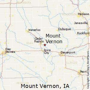 mount vernon iowa map Mount Vernon Iowa Economy mount vernon iowa map