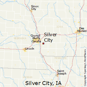 Silver_City,Iowa Map