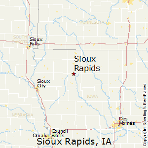 Sioux_Rapids,Iowa Map