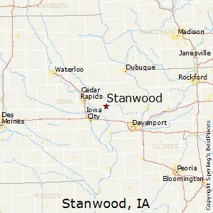 Comparison Davenport Iowa Stanwood Iowa