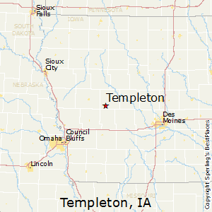 Templeton Iowa Map.Best Places To Live In Templeton Iowa