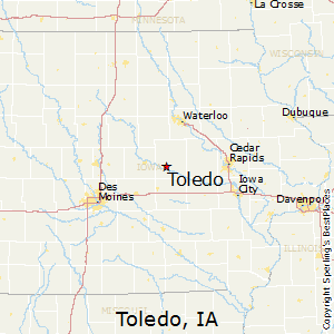 Best Places to Live in Toledo, Iowa