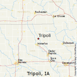 Best Places To Live In Tripoli Iowa - Where is tripoli