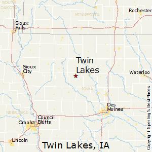 Comparison Twin Lakes Iowa Carroll Iowa