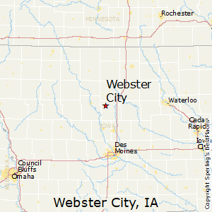 Webster_City,Iowa Map