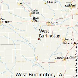 map of burlington iowa West Burlington Iowa Cost Of Living map of burlington iowa