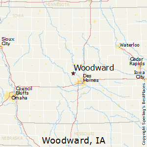 Woodward, Iowa Climate