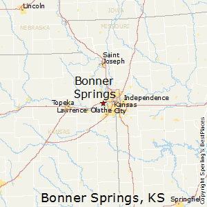Bonner_Springs,Kansas Map
