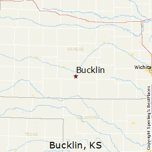 Bucklin,Kansas Map