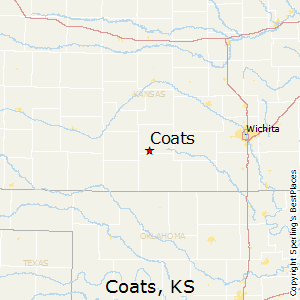 Coats,Kansas Map