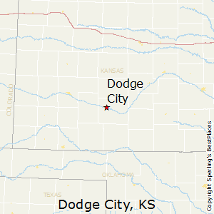 Dodge_City,Kansas Map