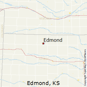 Edmond,Kansas Map