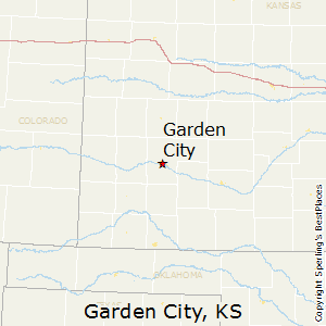 Garden_City,Kansas Map
