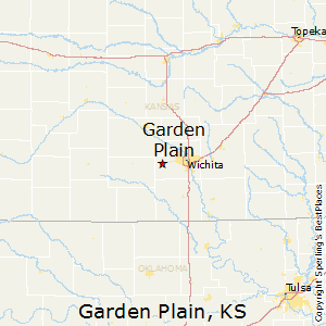 Garden_Plain,Kansas Map