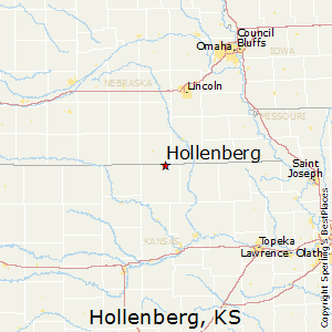 Hollenberg,Kansas Map