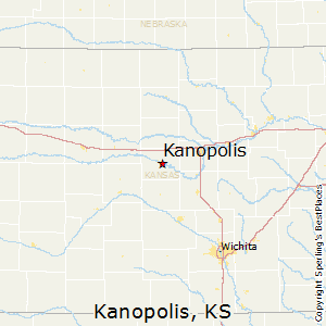Kanopolis,Kansas Map