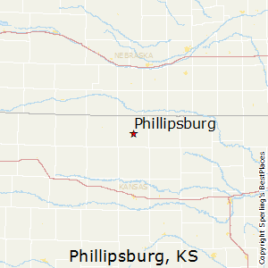 Phillipsburg,Kansas Map