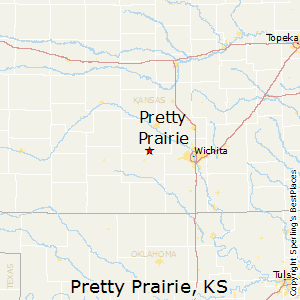 Pretty_Prairie,Kansas Map