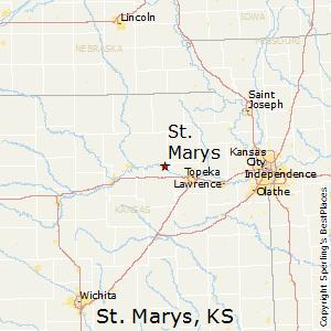 Junction City Kansas Map.Comparison St Marys Kansas Junction City Kansas