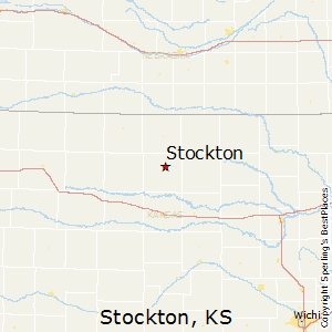 Stockton,Kansas Map