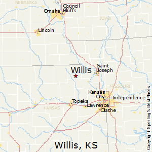 Willis,Kansas Map
