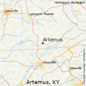 Artemus,Kentucky Map