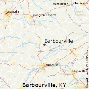 Barbourville,Kentucky Map