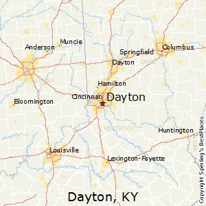 Dayton,Kentucky Map