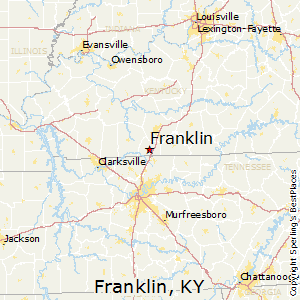 Portland Tennessee Map.Comparison Portland Tennessee Franklin Kentucky