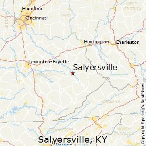 Salyersville ky zip code