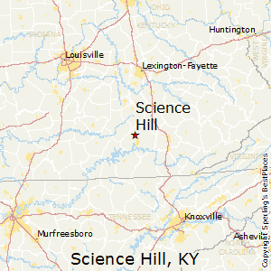 Science_Hill,Kentucky Map